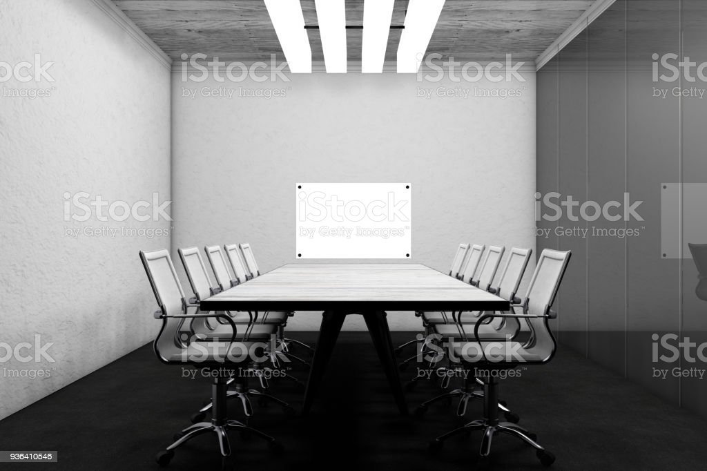 Remarkable Meeting Table With Chairs Stock Photo More Pictures Of Pdpeps Interior Chair Design Pdpepsorg