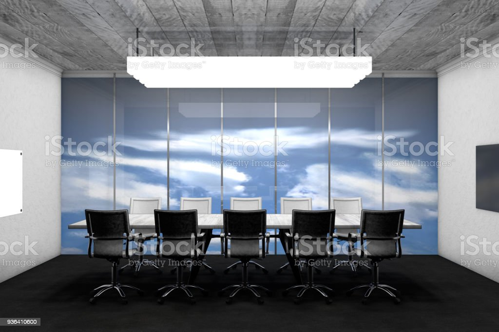 Superb Meeting Table With Chairs Stock Photo Download Image Now Pdpeps Interior Chair Design Pdpepsorg