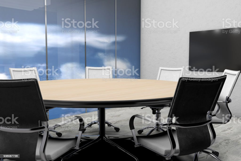 Sensational Meeting Table With Chairs Stock Photo Download Image Now Pdpeps Interior Chair Design Pdpepsorg