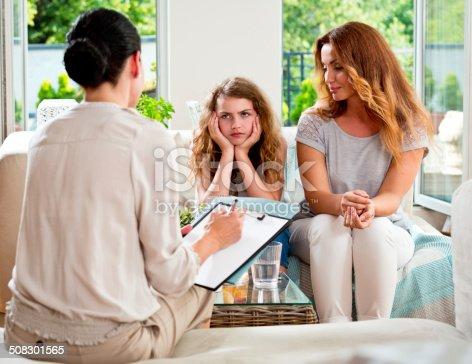 618070568 istock photo Meeting with therapist 508301565