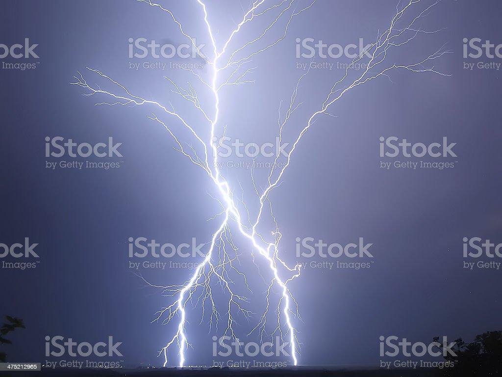 Meeting with Zeus stock photo