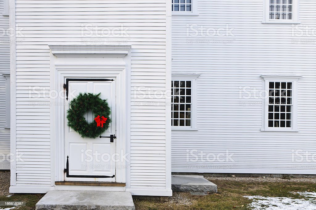 Meetinghouse  Doorway royalty-free stock photo