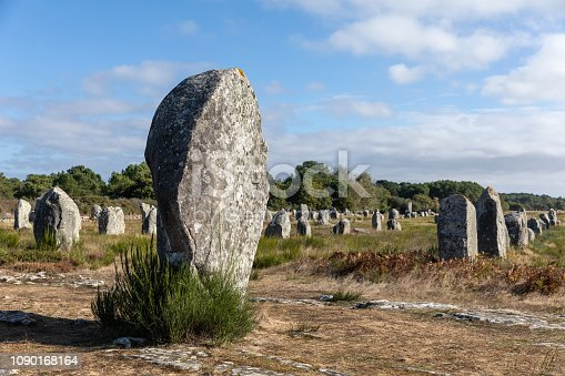 Megalithic site of Carnac (Morbihan, France)