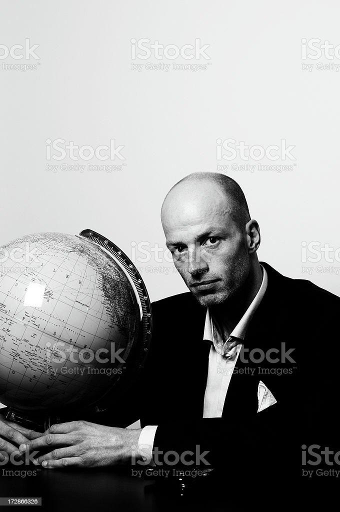 megalomaniac man royalty-free stock photo