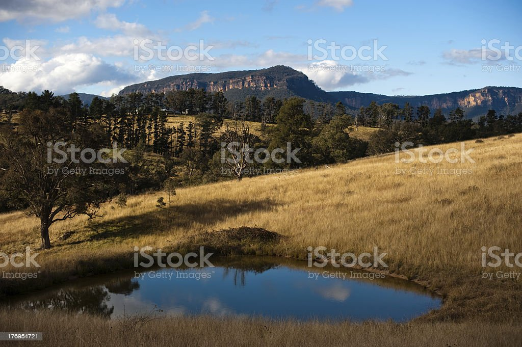 Megalong Valley. royalty-free stock photo