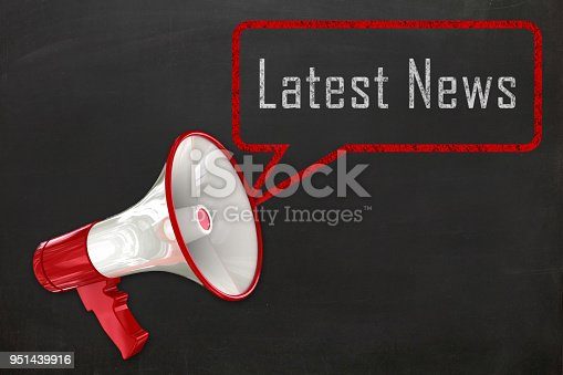 istock Megaphone message communication latest news announcement 951439916