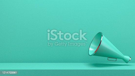 591831768 istock photo Megaphone 1214700561