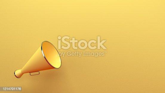 591831768 istock photo Megaphone 1214701176