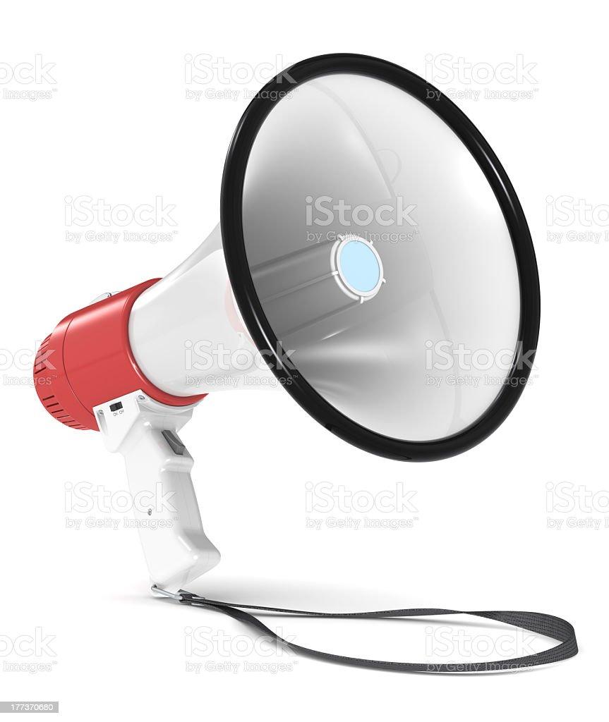 Megaphone. royalty-free stock photo