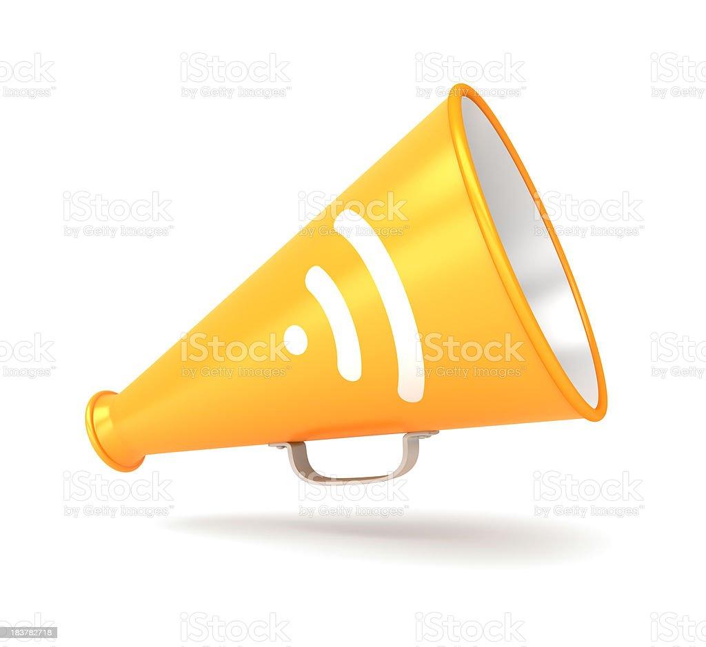 RSS Megaphone stock photo