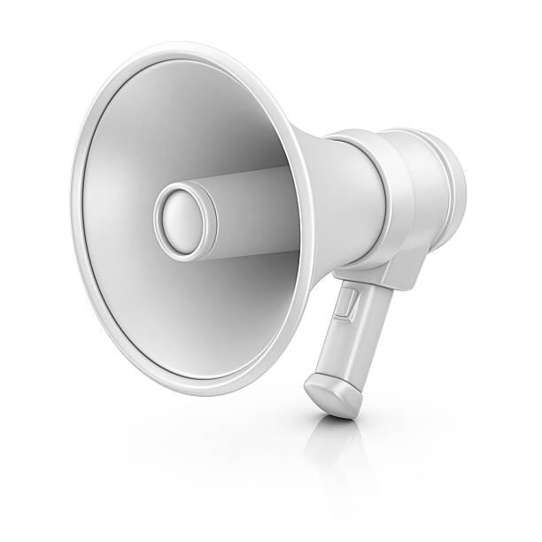 megaphone stock photo