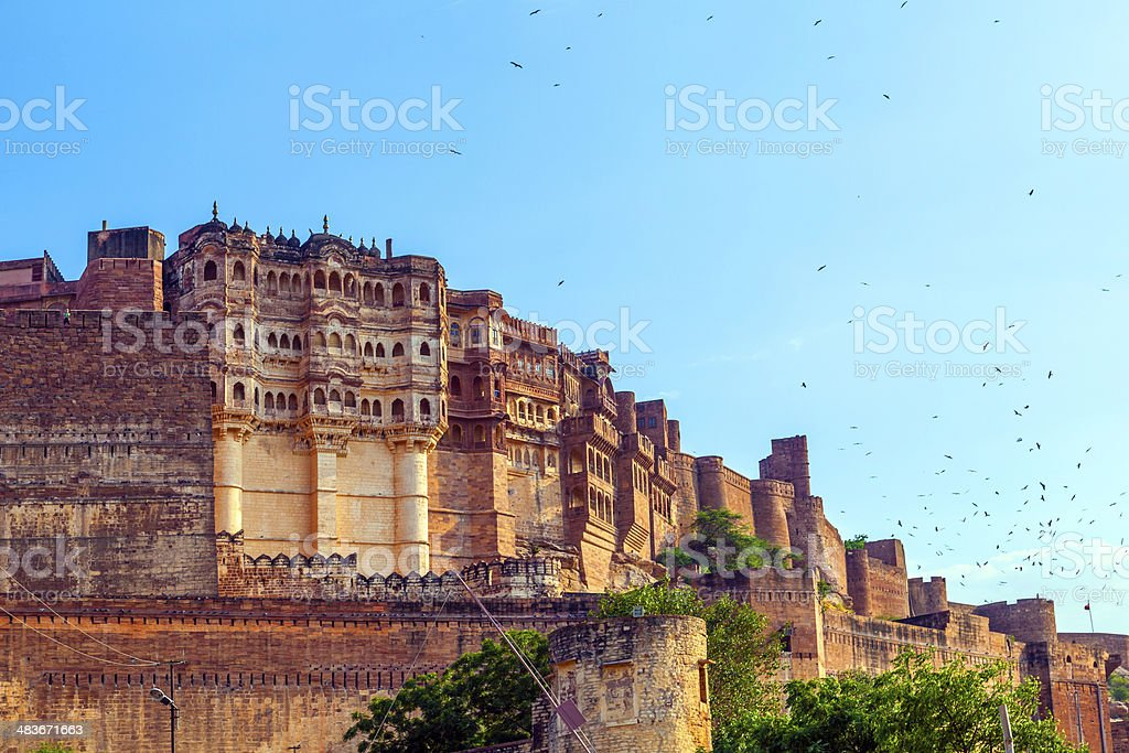 meherangarh fort - jodhpur - india - Royalty-free Ancient Stock Photo
