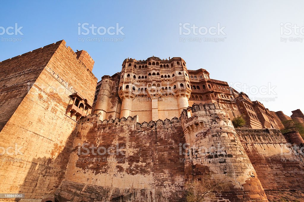 Meherangarh Fort royalty-free stock photo