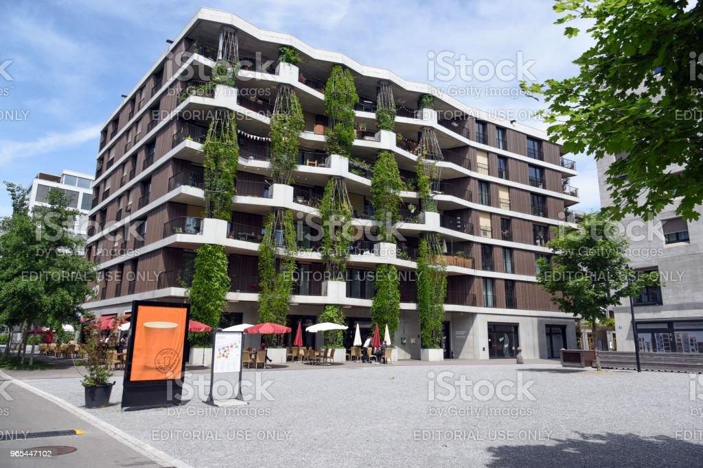 mehr als wohnen - Zurich stock photo