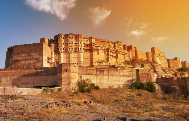 Cтоковое фото Mehrangarh Fort located in Jodhpur, India.