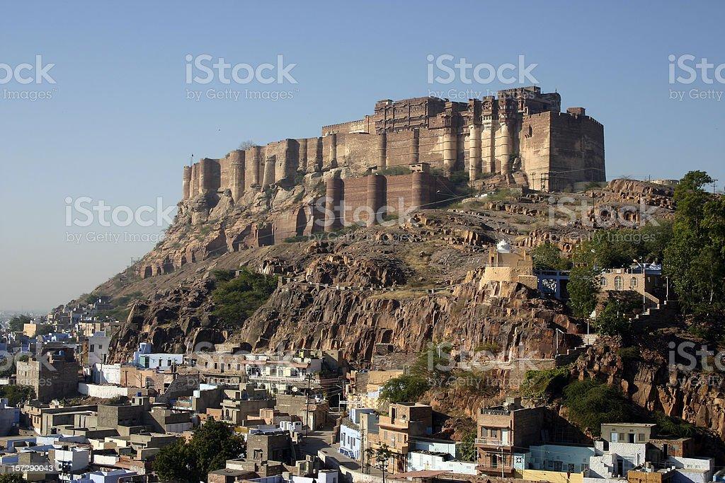Mehrangarh Fort royalty-free stock photo