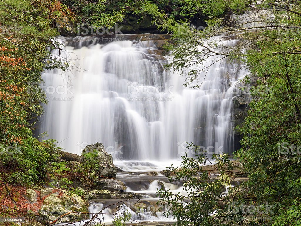 Meigs Falls in Great Smoky Mountains National Park royalty-free stock photo
