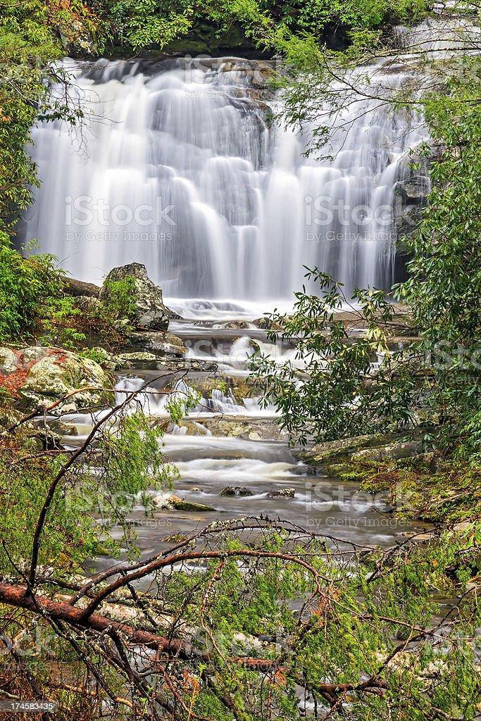 Meigs Falls royalty-free stock photo