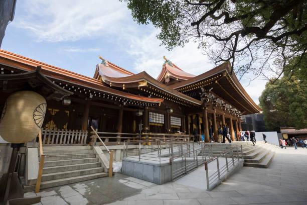 明治神社最古は、東京都渋谷区にあります。 - 寺院 ストックフォトと画像