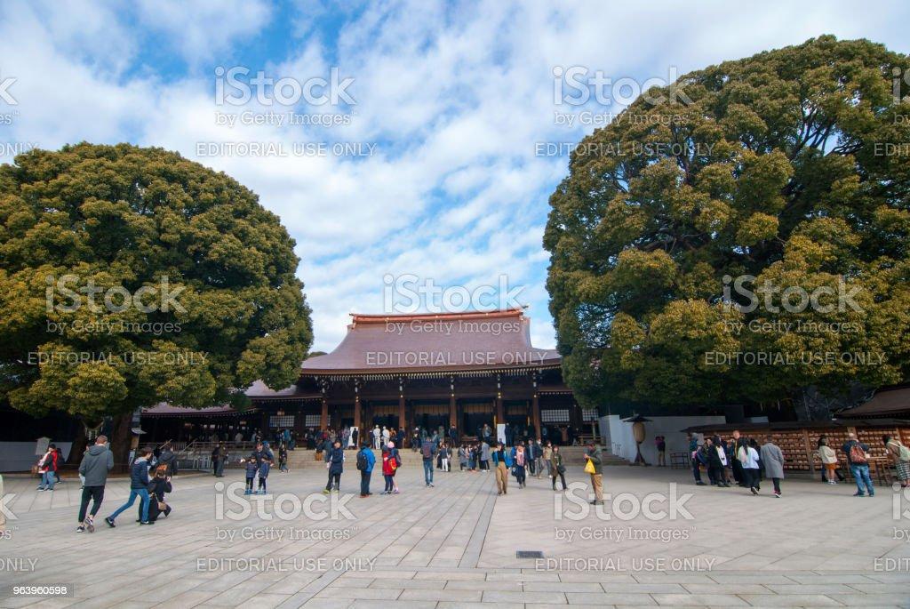 Meiji Shrine - Royalty-free Horizontal Stock Photo