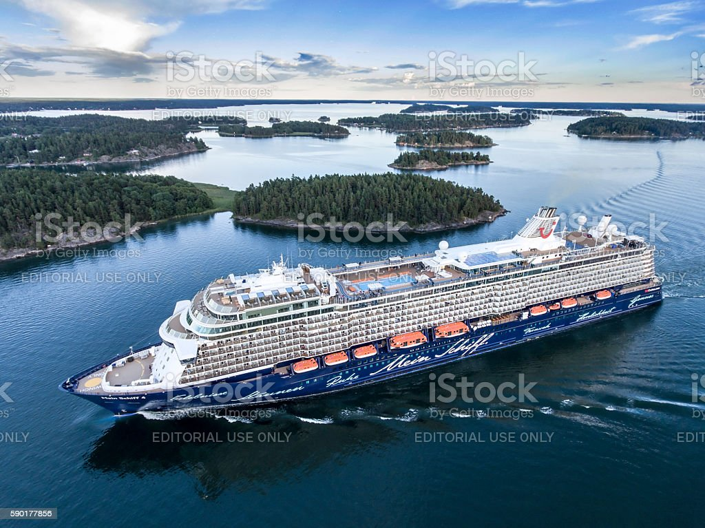 Mein Schiff 4 Cruise Ship stock photo