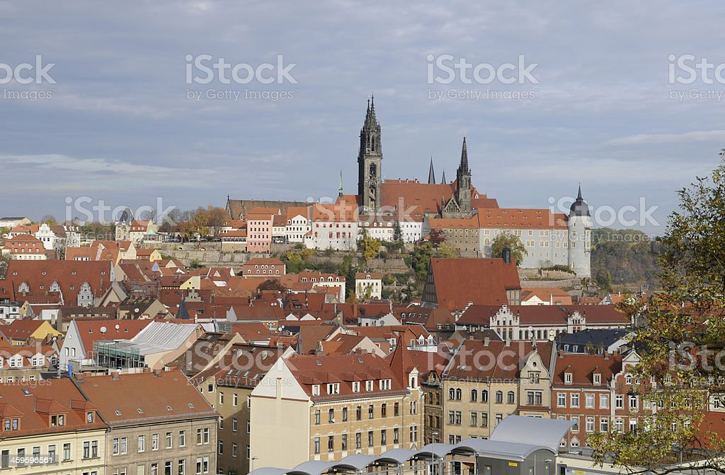Meißen, Germany royalty-free stock photo