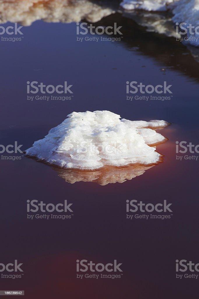 Meke crater lake royalty-free stock photo