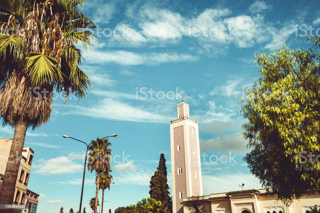 meknes landmark in morocco