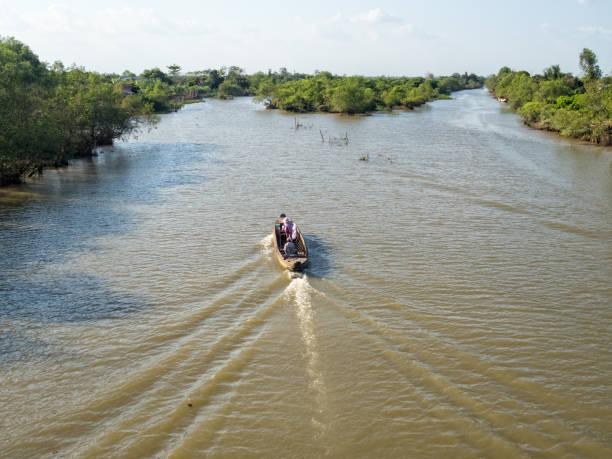 Mekong River Delta - Vinh Long stock photo