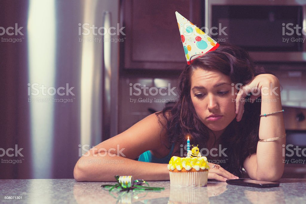 Lonely birthday party