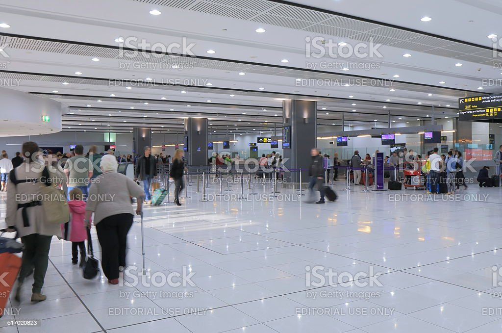 Melbourne Airport stock photo