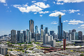 Amazing cityscape of Melbourne