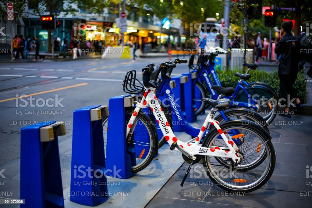 Melbourne Bike Share - Royalty-free Australia Stock Photo