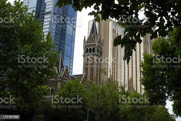 Melbourne City buildings 1