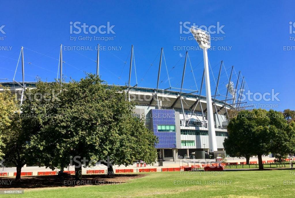 Melbourne Cricket Ground - MCG stock photo