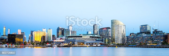 istock Melbourne Docklands at Twilight 922725832