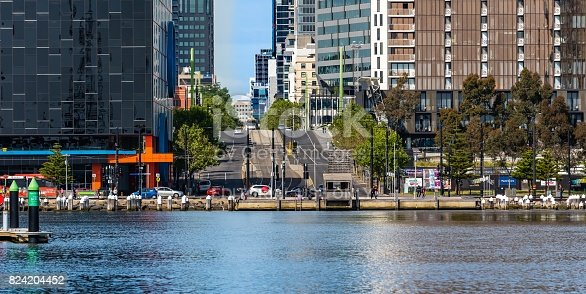 824736840 istock photo Melbourne Docklands 824204452