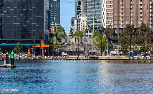 824736840 istock photo Melbourne Docklands 824204986