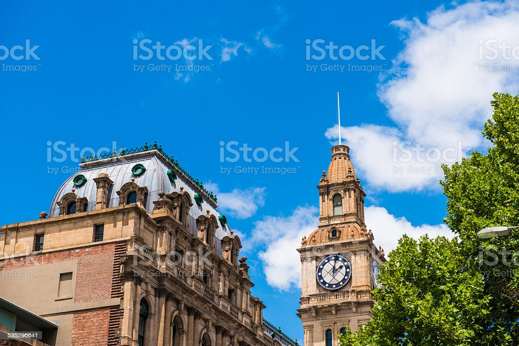 Melbourne General Post Office stock photo