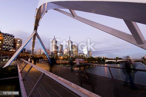 istock Melbourne Night 157331699