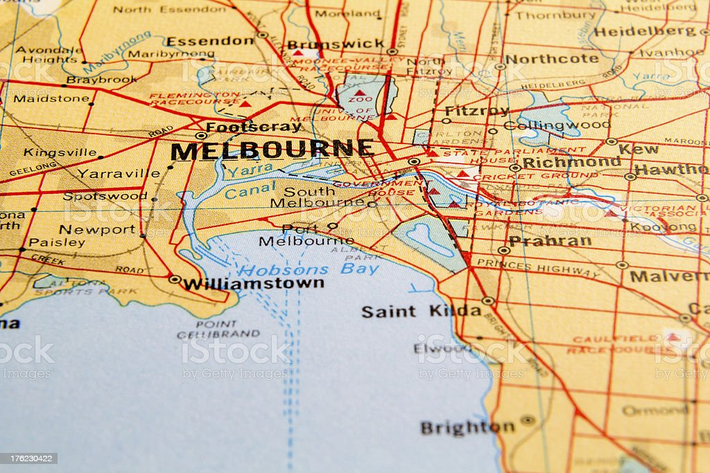 Melbourne royalty-free stock photo