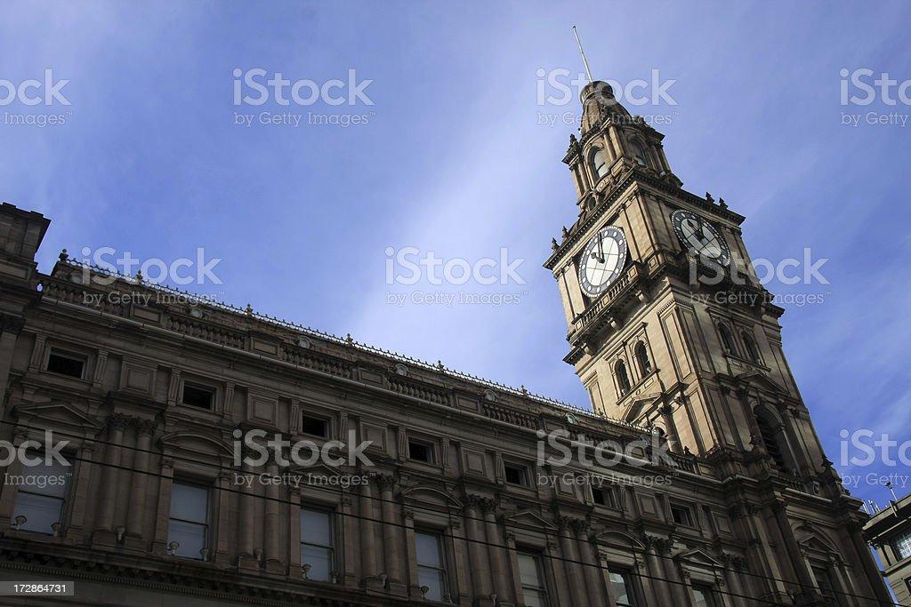 Melbourne Sky stock photo