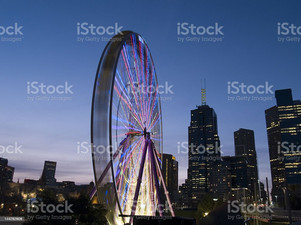 Melbourne Sky Wheel royalty-free stock photo