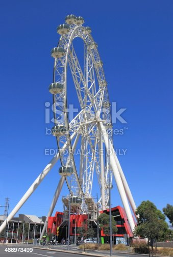 824736840 istock photo Melbourne star observation wheel 466973499