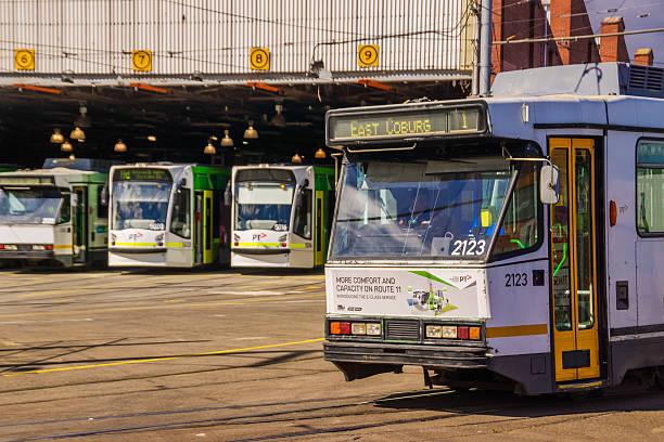 Gare de tramway de Melbourne - Photo
