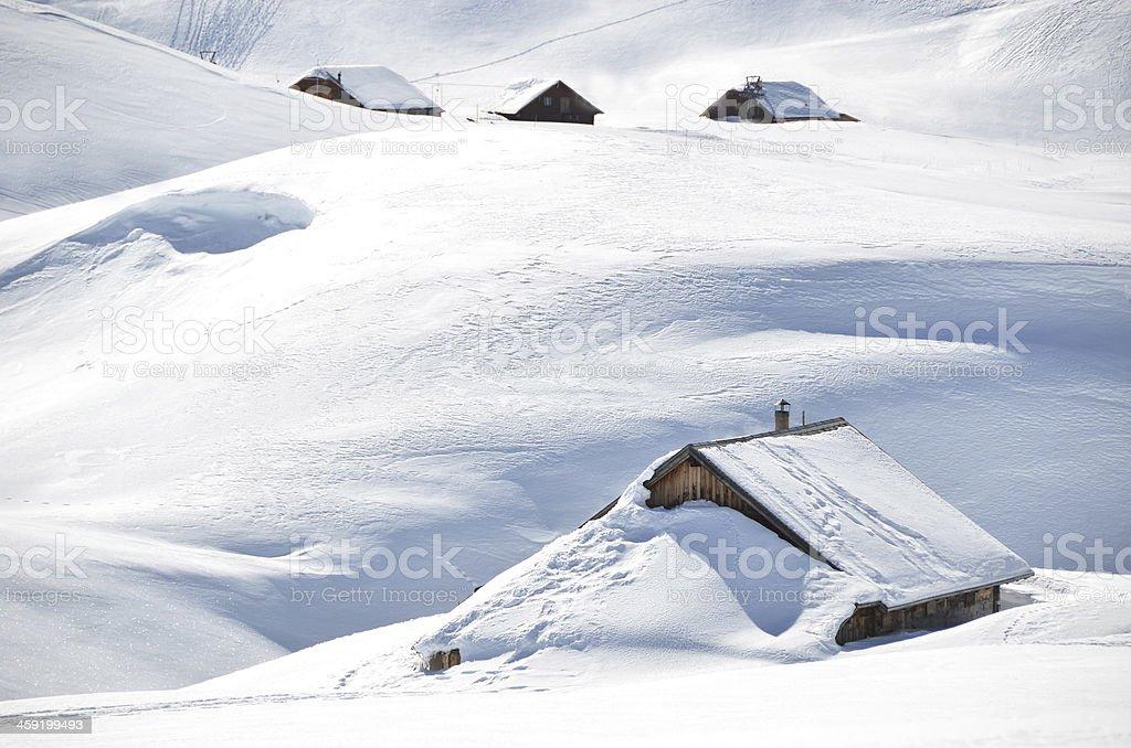 Melchsee-Frutt, Switzerland stock photo