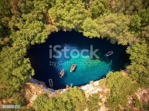 istock Melissani Cave - Kefalonia 823335112