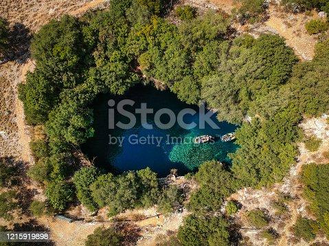 823335112 istock photo Melissani Lake Cave 1215919898