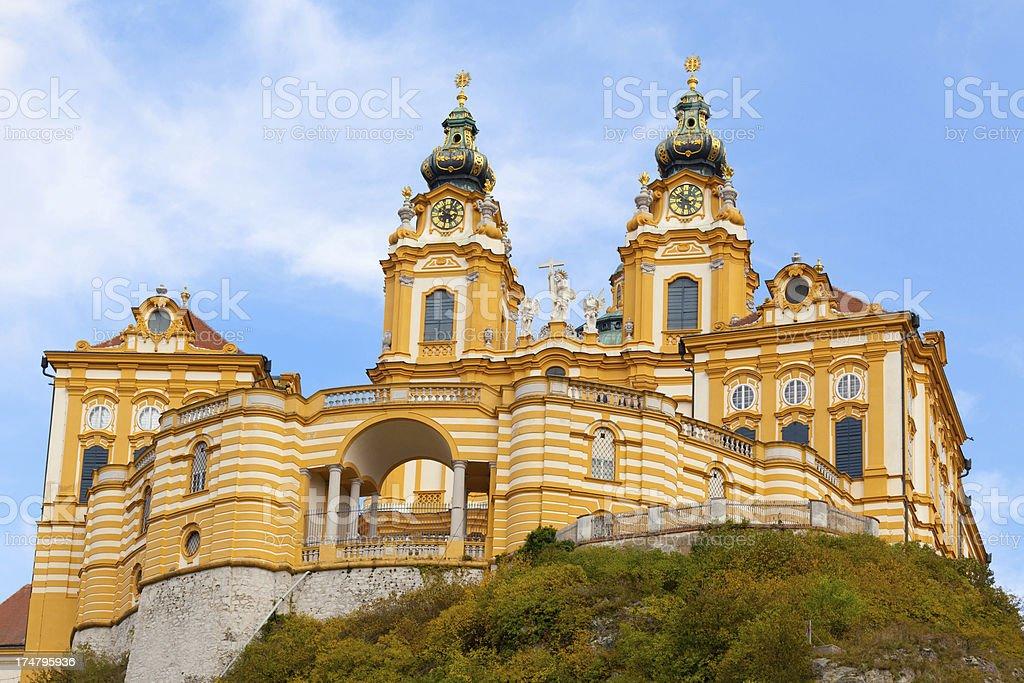 Melk Abbey, Austria stock photo