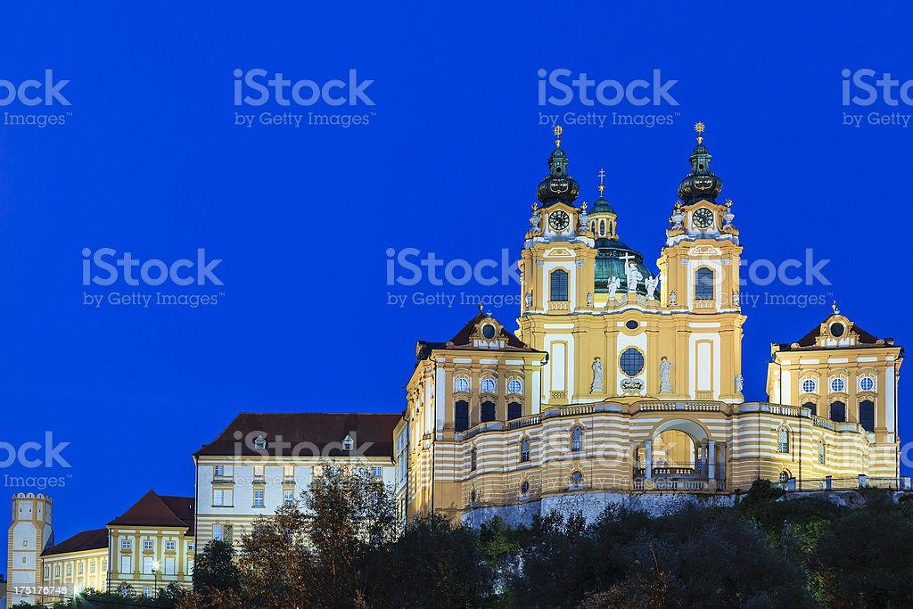Stift Melk, Austria royalty-free stock photo